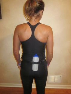 "Sarah with the blog Running On Healthy posted a great review of the Simple Hydration Bottle today. She says: ""I really think it is the easiest and most well thought out system around."" She shows how the Simple Hydration Bottle hooks nicely onto a SPIbelt for running."