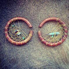 Customs for Robin~Handmade organic dreamcatcher plugs-customs available <3