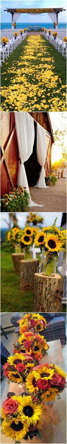53 Best Sunflower Weddings Images Wedding Ideas Dream Wedding
