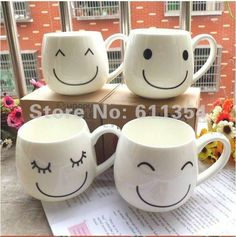 Smiley Face Mugs