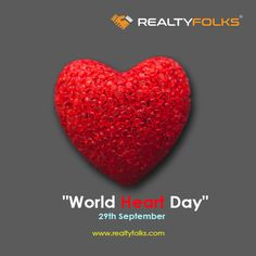 Choose kindness over anger and Love over hate. !!! #worldheartday #realtyfolks #29thseptember