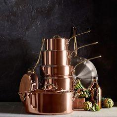 Mauviel Copper Saucepan | Williams-Sonoma #CopperCookware