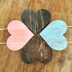 Excited to share the latest addition to my #etsy shop: Rustic Wood Heart|Shabby Chic| Wood Hearts|Rustic Decor|Shabby Chic Decor|Nursery Decor|Baby Decor|Girl Decor|Valentine Day Decor|Valentine