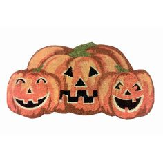 Found it at Wayfair - Happy Halloween Pumpkin Shaped Coir Doormat