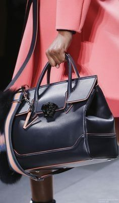 Fall 2016 Ready-to-Wear Versace leather handbags and purses