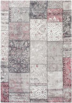 Wilton-matto - Ghazal Patchwork (pinkki) Quilts, Blanket, Rugs, Home Decor, Scrappy Quilts, Farmhouse Rugs, Decoration Home, Room Decor, Quilt Sets