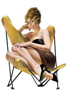 Robert McGinnis Vintage Pulp Art Illustration | Female-Centric Pulp Art | Sugary.Sweet | #Pulp #Art #Illustration