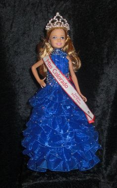 Little Queen!  One-of-a-kinda custom doll by www.PageantPersonality.com