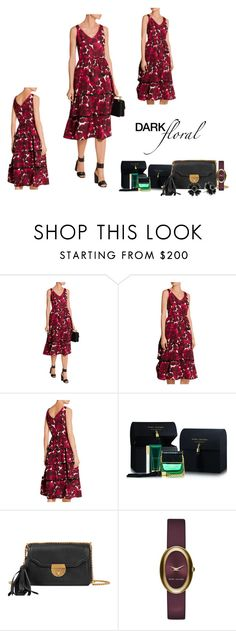 """""""Marc Jacobs Dark Floral"""" by freida-adams ❤ liked on Polyvore featuring Marc Jacobs, marcjacobs, polyvorecontest and darkflorals"""