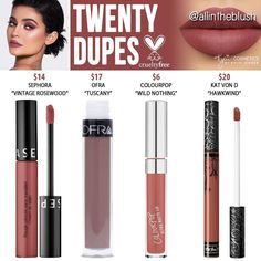 (@allintheblush) on Instagram: TWENTY DUPES FROM KYLIE'S 20th BIRTHDAY COLLECTION
