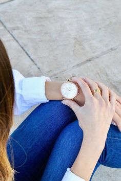 nl Denim and the Q Tailor hybrid smartwatch. via @ emilymen 2017 Fall Fashion Trends, Fashion 2017, Track Your Steps, California Style, Smartwatch, How To Take Photos, Daniel Wellington, Fashion Watches, Fossil