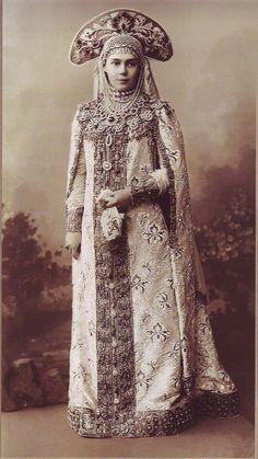 Grand Duchess Xenia Alexandrovna : 1903' bal, San Petersburg