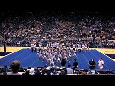 BYU Spirit Squad Rise and Roar Halftime Show 2014