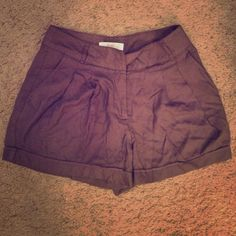 High waisted shorts Brown high waisted shorts. Size XS. In good condition. Forever 21 Shorts