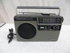 Vintage Panasonic RQ-832DS 8-Track Player