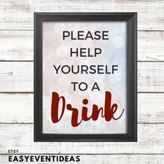 Silver and White Sparkle Baby Shower Grab a Drink Sign   Printable   Instant Download by EasyEventIdeas on Etsy https://www.etsy.com/listing/603089551/silver-and-white-sparkle-baby-shower