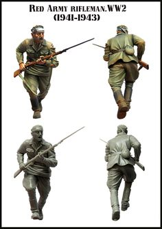 Red army infantry charging! Click on the picture for more details