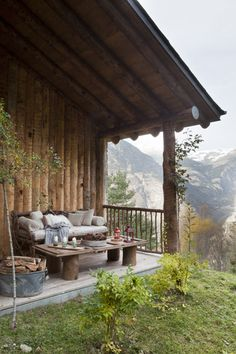 mountain porch