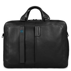 Two-handled computer bag with iPad®Air/Air2 and iPad®mini compartment, bottle/umbrella holder