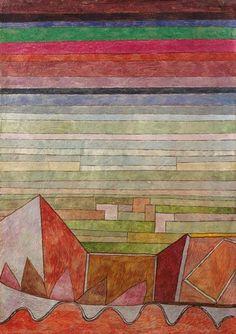 Paul Klee - Vue dans