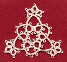 Triangular Medallion - repeated would make a nice necklace.