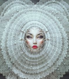 We love the stunning works Natalie Shau creates. This is her latest Pioneers of Now.