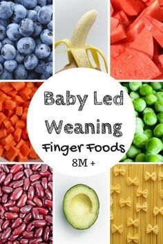 "Around 8 months of age baby will begin to develop his ""pincer grasp"" and offering foods that are more difficult to pick up can help that along! Read about this and more Baby Led Weaning info at familystylenutrition.com"