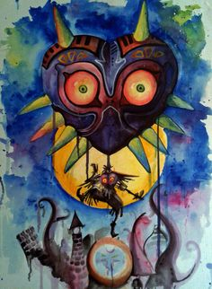 Majora's Mask by buuuuuuu7 on deviantART
