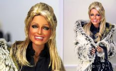 https://flic.kr/p/E2z8CS   Fab Farrah   Black Label Barbie of Farrah Fawcett as restyled and repainted by Noel Cruz of www.ncruz.com for www.myfarrah.com. Farrah is wearing a fashion (Fur Jacket beautifully lined and crafted) by Elena Peredreeva on line at www.elenpriv.com. On Flickr www.flickr.com/photos/elenpriv/favorites/  Photographed in a Ken Haseltine Regent Miniatures Diorama for 1:6 scale figures (www.regentminiatures.com).  Visit:  www.myfarrah.com.  Farrah is on facebook…