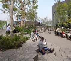 View full picture gallery of Tokyu Plaza Omotesando Harajuku Landscape Plaza, Landscape And Urbanism, Japan Landscape, Landscape Architecture Design, Architecture Diagrams, Architecture Portfolio, Poket Park, Plaza Design, Rooftop Garden