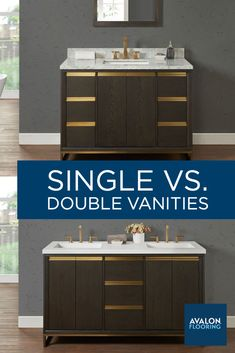 If you're renovating your bathroom, you may be thinking whether the trend is worth it or whether a single bathroom vanity might be a better fit. Both vanity styles are great options depending on the overall design of your space, so we've put together our recommendations for how to choose between a single or double-sink vanity for your bathroom.