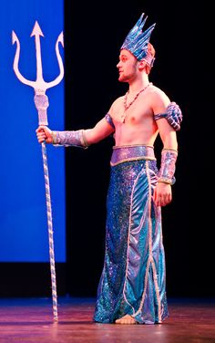 King Triton costume for Little Mermaid.  westviewtheatre.org
