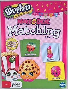 Shopkins Make-a-Deal Matching Game