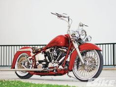 1987 Harley Davidson Heritage Softail - from La Vida Customs, Albuquerque N.M.