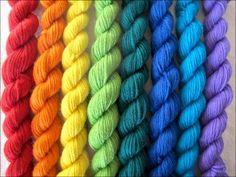 Over the Rainbow yarn
