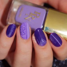 #31DC2014 Violet, Marc Jacobs Ultraviolet & PPN She Gets What She Wants | lacquerstyle.com | kgrdnr