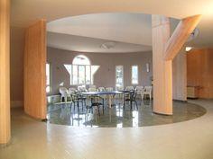 Romano Botti architetture - Casa Protetta per Anziani di Cesena - interni - con l'architetto Kalina Eibl