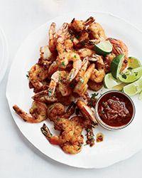 Mexico City Shrimp with Chipotle Mojo Recipe