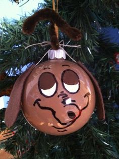 Christmas ornament, The Grinch's dog , The Grinch, Max ornament on Etsy, $45.00