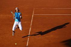 Rafael Nadal Photos: In Focus: Jump For Joy - We Just Won