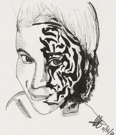 Sketchy #804: Melanie Erker by Ally Pena