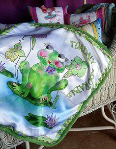 Baby Blanket Silky Luxurioius Minky Meet Francine by Babybonbons