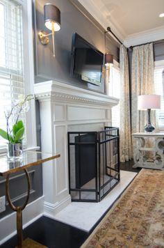 #Dreambuilders designer Elaine' re-designed #livingroom. #design #renovation #homeimprovement  #TeamRed