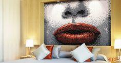 Mosaic as a piece of art