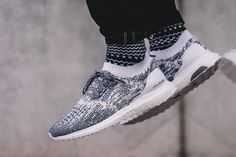 "On-Foot: adidas UltraBOOST Uncaged ""Footwear White & Collegiate Navy"""