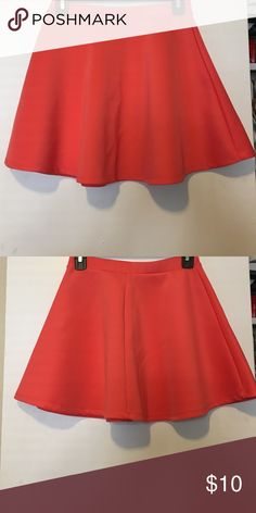Forever21 Collection: Skirt Compliments all day • Skater Skirt• Pair with your cutest blouse • Great condition • Worn 2x • No trades • Open to offers • available on Ⓜ️ Forever 21 Skirts Mini