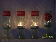 Coke Candle Holder