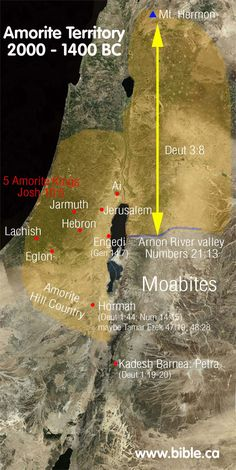 """As Israel had asked Edom to pass through, but was refused, so too they asked the Amorites so they could pass travelling west to cross their land and get to the Jordan River. Unlike Edom, this time Israel fought: """"Then Israel sent messengers to Sihon, king of the Amorites, saying, """"Let me pass through your land. We will not turn off into field or vineyard; we will not drink water from wells. We will go by the king's highway until we have passed through your border."""" But Sihon would not permit…"""