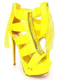 Open Toe Stiletto Heel