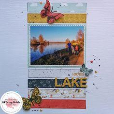 UK Scrap Addicts: Furzton Lake   Amy Kattenbelt   6x6 Papers